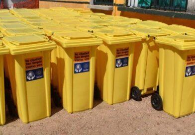 Se retoma la entrega de contenedores individuales en Ciudad del Plata