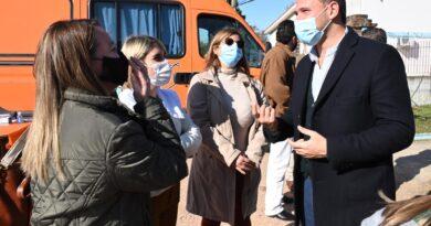 Comenzó vacunación a embarazadas en Ciudad del Plata